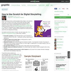 How to Use Scratch for Digital Storytelling