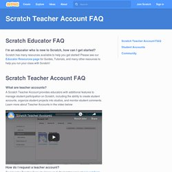 Scratch - Compte docent