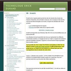 08 - Scratch - TECHNOLOGIE ERICK DURAND