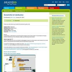 Scratch2 et Arduino