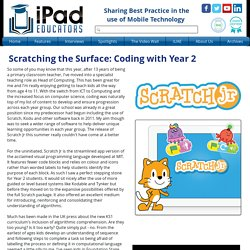 Scratching the Surface: coding with Year 2