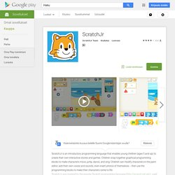 ScratchJr (Google play)