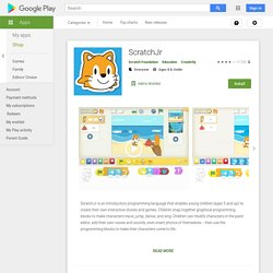 ScratchJr – Applications Android sur Google Play