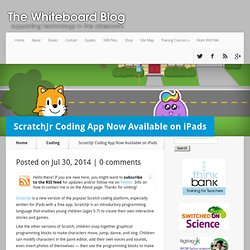 ScratchJr Coding App Now Available on iPads