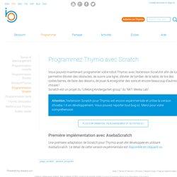 Tutoriel : programmer Thymio avec Scratch