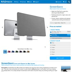 Screen Cover for iMac