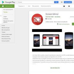 Screen Mirror - Aplicaciones en Google Play
