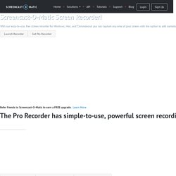 Screen Recorder - Record your screen for free!