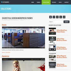 30+ Best Full Screen WordPress Themes 2014