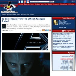 60 Screencaps From The Official Avengers Trailer!
