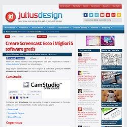 Creare Screencast: Ecco i Migliori 5 software gratis