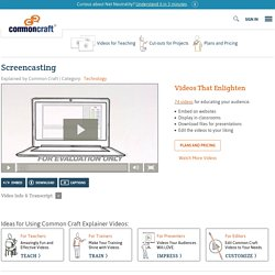 Screencasting Explained by Common Craft