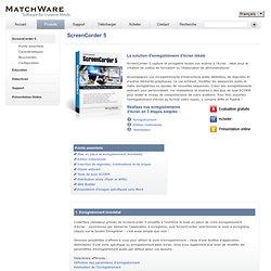 ScreenCorder - Logiciel de capture et d'enregistrement d'écran