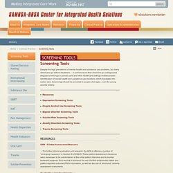 Screening Tools / SAMHSA-HRSA