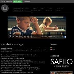 Awards & screenings - Shame and glasses - A short movie by Alessandro Riconda