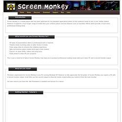 Walk Through - Show and Presentation Control Software