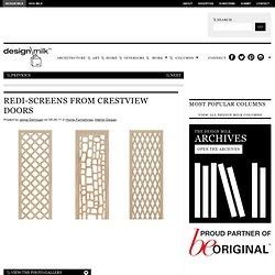 Redi-Screens from Crestview Doors