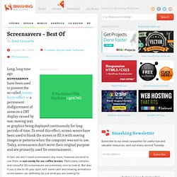 Screensavers – Best Of - Smashing Magazine