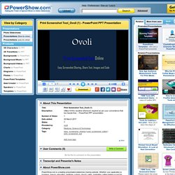 Print Screenshot Tool_Ovoli