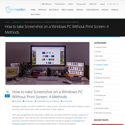 Don't know how to take screenshots on your computer system?