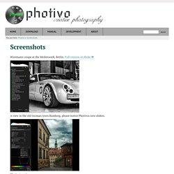 Screenshots - Photivo