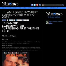 10 Famous Screenwriters' Surprising First Writing Gigs