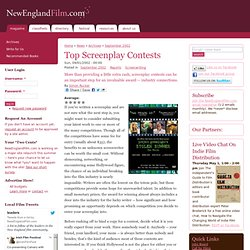 Profile of the Top Screenplay and Screenwriting Contests, 9/02
