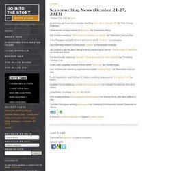 Screenwriting News (October 21-27, 2013)