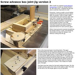 Screw advance box joint jig version 2