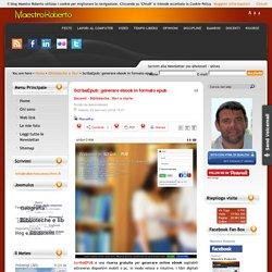 ScribaEpub: generare ebook in formato epub