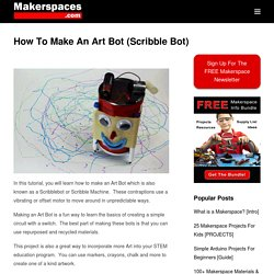How To Make An Art Bot (Scribble Bot) - STEAM Project Tutorial