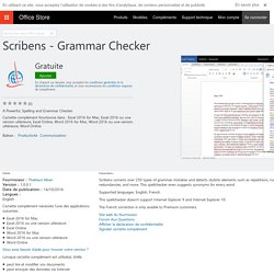 Scribens - Grammar Checker