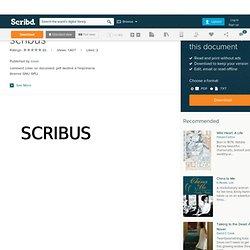 Scribus - 3 prises en mains