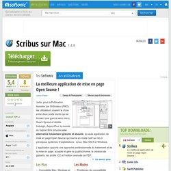 Scribus (Mac) - Télécharger