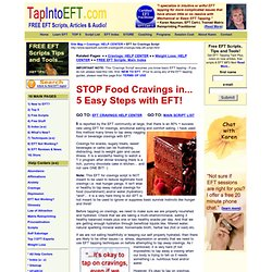 FREE Script | EFT For Cravings and Emotional Eating