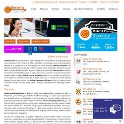 Udemy clone script, Online course software, Online classroom software