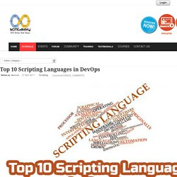 DevOps : Top 10 Scripting Languages
