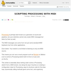 Scripting Processing With MIDI: 12 Steps