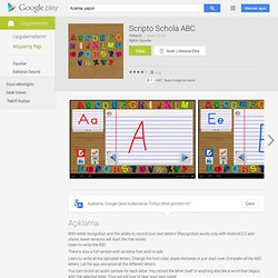 Scripto Schola ABC - Android Apps on Google Play