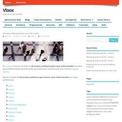 40 scripts y software gratis para crear redes sociales » vloox