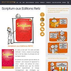 Scriptum aux Editions Retz