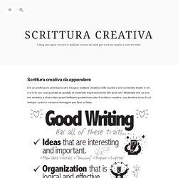 Scrittura creativa — Scrittura creativa da appendere