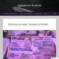 Scrittura vs tema. Lettura vs Invalsi – Laboratorio di parole