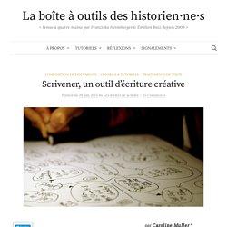 Scrivener, un outil d'écriture créative – La boîte à outils des historien·ne·s