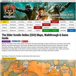 The Elder Scrolls Online (ESO) Maps, Walkthrough & Game Guide