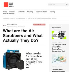 What are the Air Scrubbers and How Does It Work?