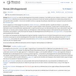Scrum (développement)
