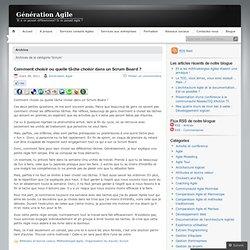 Scrum « Génération Agile