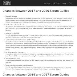 Scrum Guide Revisions