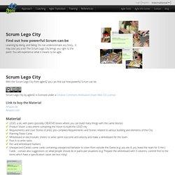 Scrum Lego City